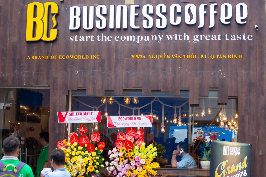BUSINESS COFFEE BRAND OFFICIALLY OPEN THE SECOND STORE