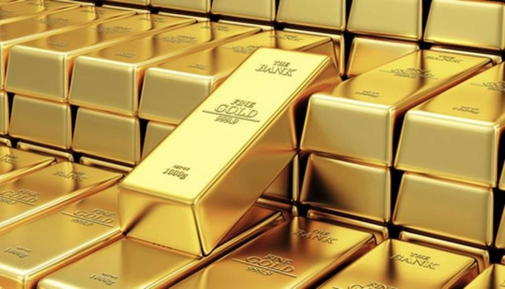 World gold reached the highest level in 1 week